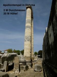der Tempel wurde nie fertig gestellt.
