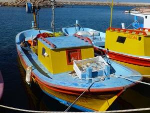 kleines Fischerboot in Babakale