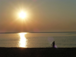 Begrüßung der Sonne