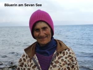 der Sevan See liegt auf 1900 HM