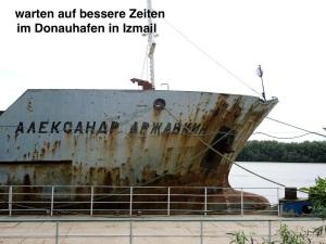 wann kommen sie wieder die Donauschiffe?