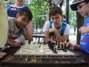 zukünftige Schachmeister in Odessa