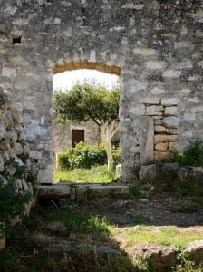 Klostergarten bei Aptera