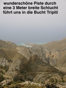 Weg nach Tripiti