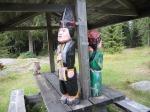 Holzfigürchen aus der schwed.Sagenwelt