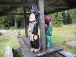 Holzfigürchen aus der schwed. Sagenwelt