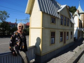 in Delsbo haben sie ganz kleine Häuschen und wo sind die BewohnerInnen