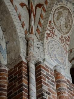 lustige Fresken
