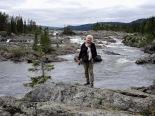 Wasserfall Litsjöforsen